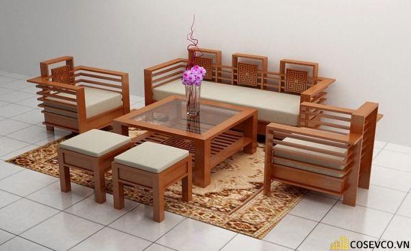 Mẫu bàn ghế gỗ giá rẻ đang được bán chạy 2020