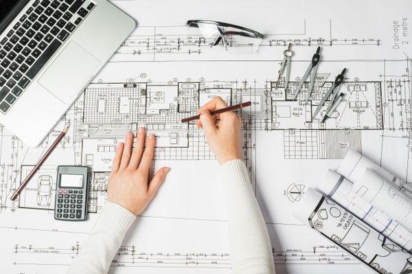 Bản vẽ phác thảo xây dựng