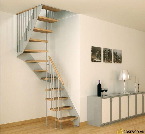 Mẫu cầu thang xoắn ốc cho nhà hẹp