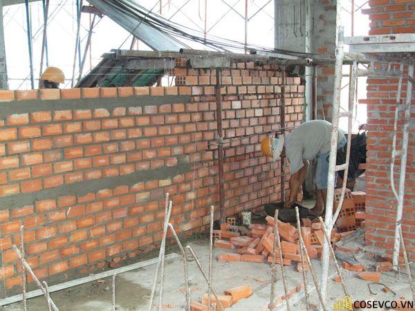Định mức gạch xây tường 110