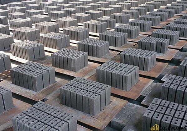 Định mức xây tường gạch block