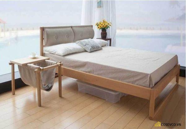 Giường ngủ đơn giá rẻ dưới 1 triệu - Mẫu 12