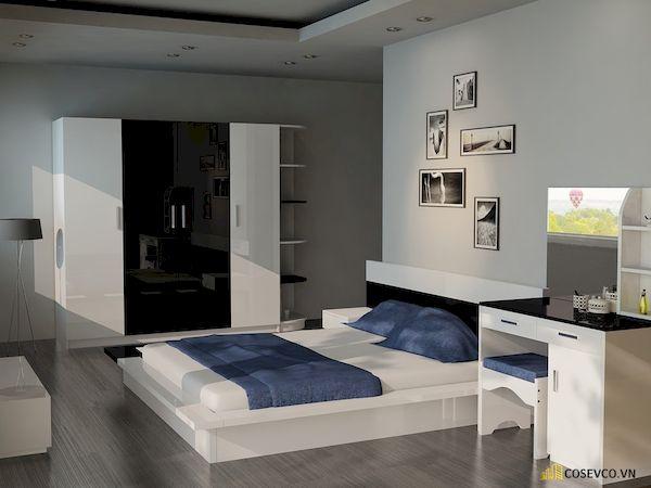 Giường ngủ đơn giá rẻ dưới 1 triệu - Mẫu 18