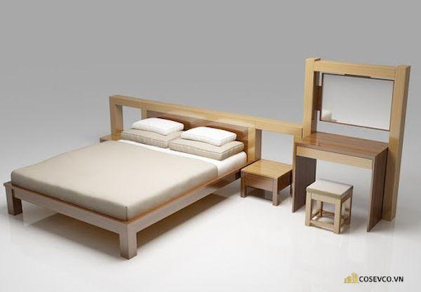Giường ngủ đơn giá rẻ dưới 1 triệu - Mẫu 4
