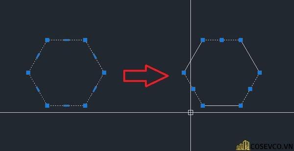 Lệnh (EXPLODE) trong CAD- Lệnh phá khối trong CAD
