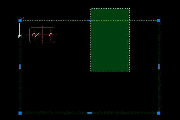 Bước 1: Quét chọn đối tượng cần phóng to hoặc thu nhỏ trong cad - Trên màn hình nhập SC để gọi lệnh Scale