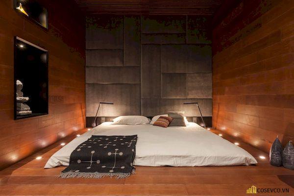 Mẫu trang trí phòng ngủ nhỏ cho nữ không giường - Cách 1