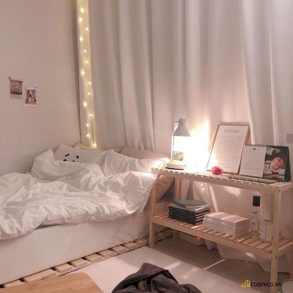 Mẫu trang trí phòng ngủ nhỏ cho nữ không giường - Cách 5
