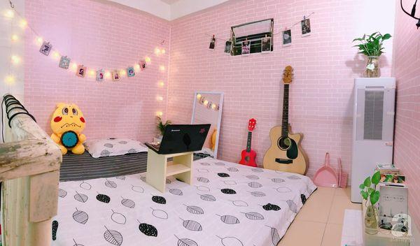 Cách trang trí phòng trọ dễ thương