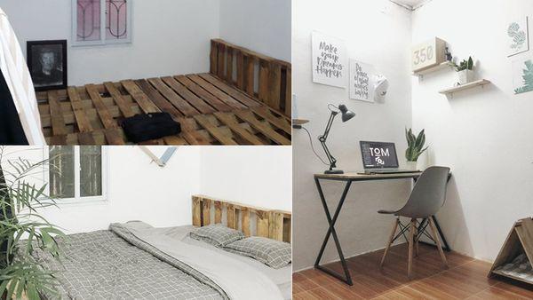 Cách trang trí - sắp xếp đồ đạc trong phòng trọ nhỏ