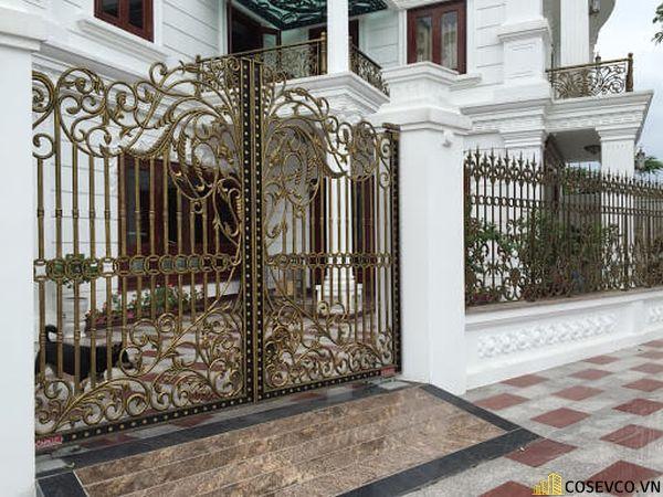 Màu sơn trụ cổng đẹp