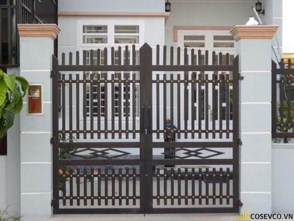 Trụ cổng đẹp không mái