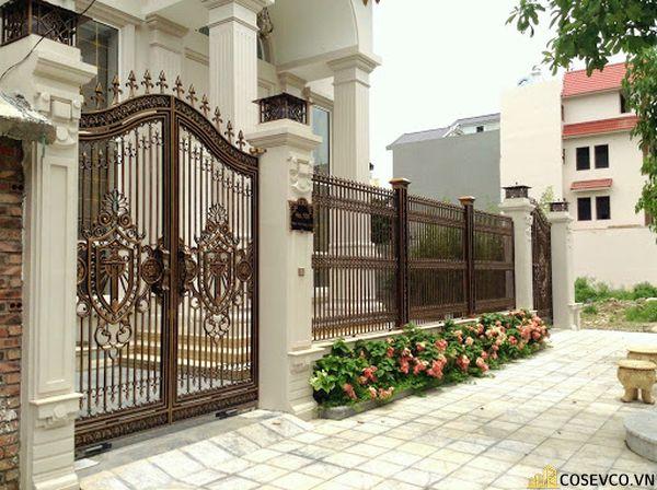 Màu sơn trụ cổng đẹp - Mẫu 2