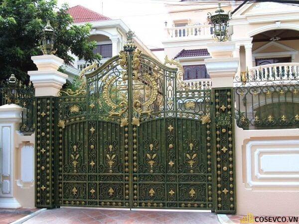 Màu sơn trụ cổng đẹp - Mẫu 3