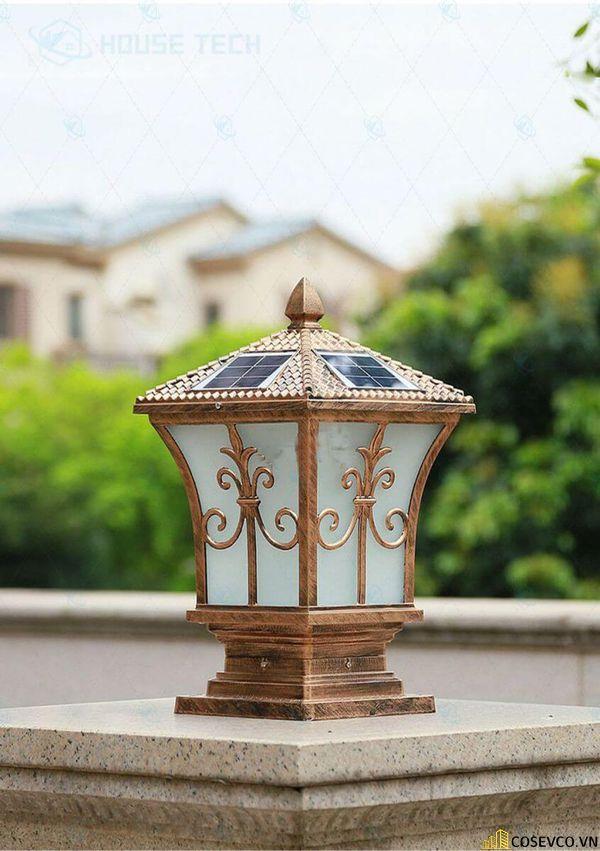 Mẫu đèn trụ cổng đẹp