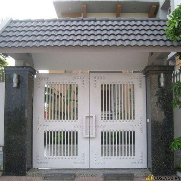 Mẫu trụ cổng hiện đại