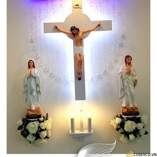 Bàn thờ Công giáo - Thiên Chúa đẹp - Mẫu 4