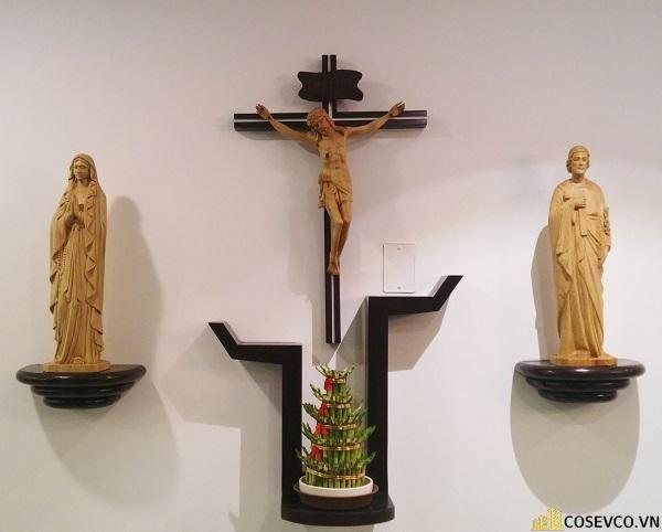 Bàn thờ Công giáo - Thiên Chúa đẹp - Mẫu 5
