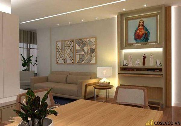 Bàn thờ Công giáo - Thiên Chúa đẹp - Mẫu 6