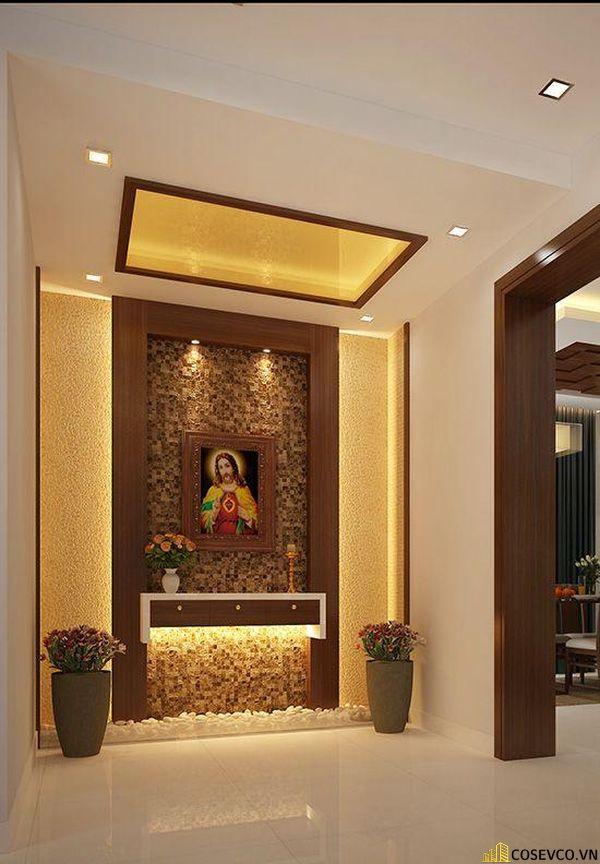 Bàn thờ Công giáo - Thiên Chúa đẹp - Mẫu 9