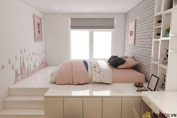 Mẫu Thiết kế phòng ngủ hiện đại 18m2