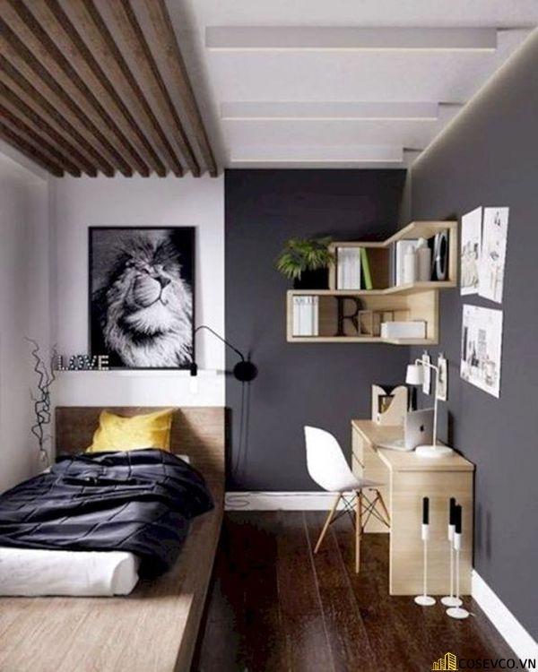 Diện tích phòng ngủ 12m2 trang trí đơn giản