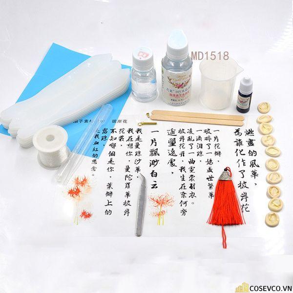 Bộ Kit Dụng Cụ Làm Quạt Cổ Trang Handmade