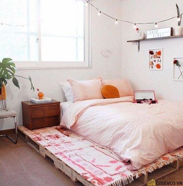 Mọi sắp xếp bày trí chiếc giường bạn hoàn toàn làm chủ