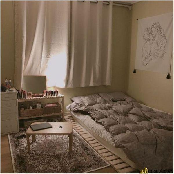 Mẫu giường pallet 1m6