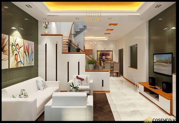 Phong cách nội thất tối giản mang đến sự gọn gàng và thẩm mỹ cho phòng khách