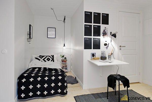 Trang trí phòng ngủ nhỏ kiểu hàn quốc - Mẫu 2