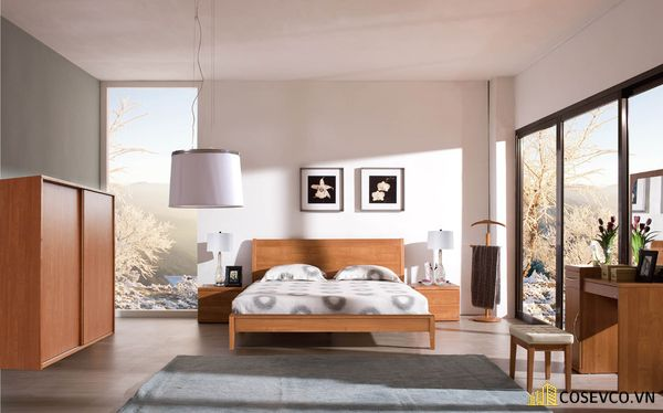 Mẫu trang trí phòng ngủ đơn giản đẹp - Mẫu 13