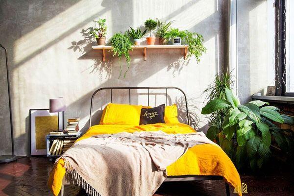 Trang trí phòng ngủ nhỏ bằng đồ handmade - Mẫu 2