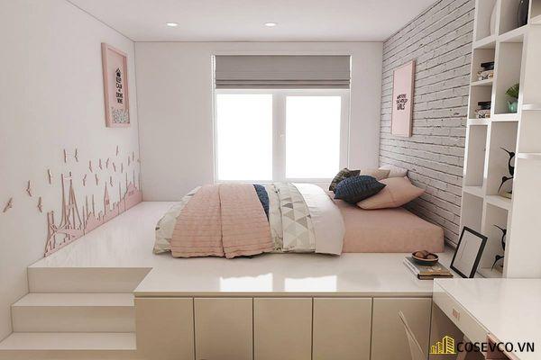 Mẫu trang trí phòng ngủ đơn giản đẹp - Mẫu 7