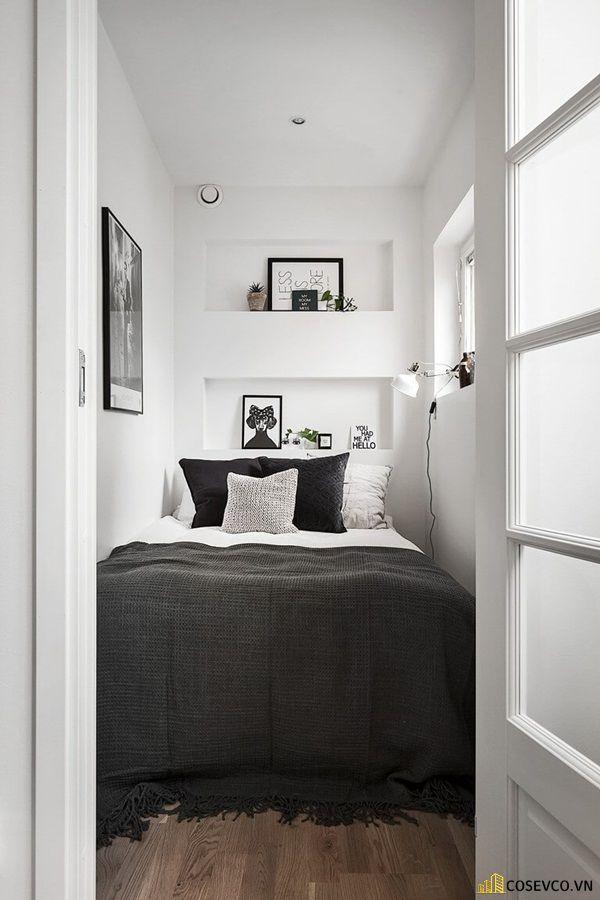 Mẫu trang trí phòng ngủ nhỏ tiết kiệm - Mẫu 11