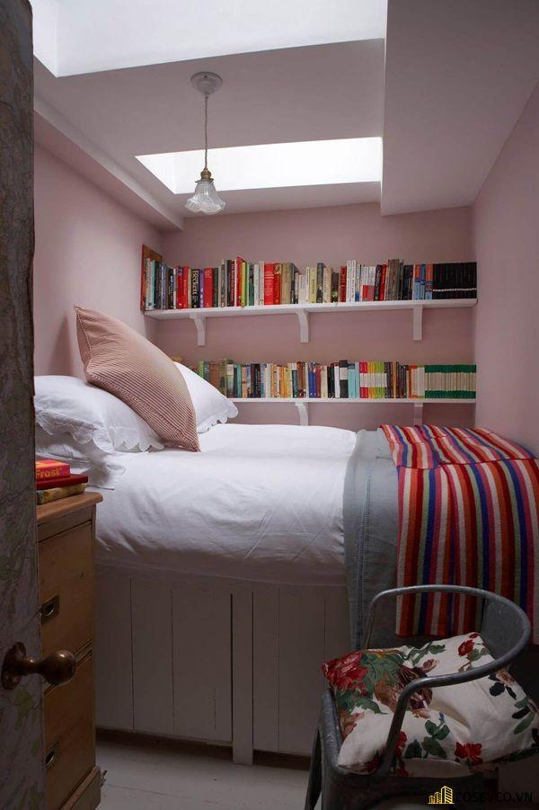 Trang trí phòng ngủ nhỏ không có cửa sổ - Mẫu 5