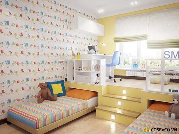 Mẫu trang trí phòng ngủ đơn giản đẹp - Mẫu 8