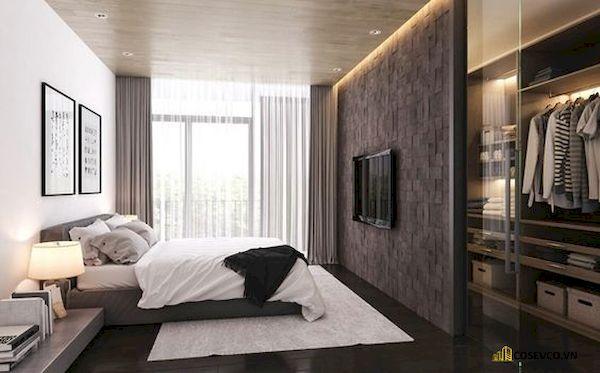 Mẫu vách ngăn phòng ngủ đẹp - Hình ảnh 12