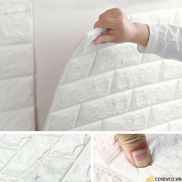 Độ bền của xốp dán tường khoảng 10 – 15 năm