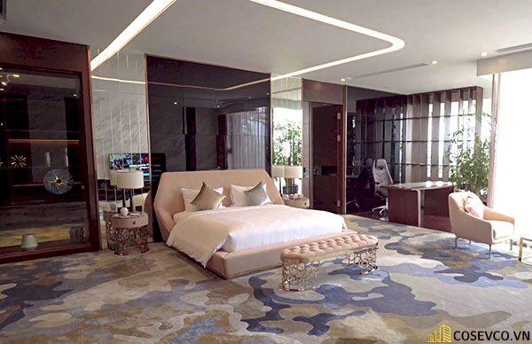 Trang trí phòng ngủ với thảm trải sàn - Hình ảnh 1