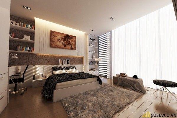 Trang trí phòng ngủ với thảm trải sàn - Hình ảnh 3