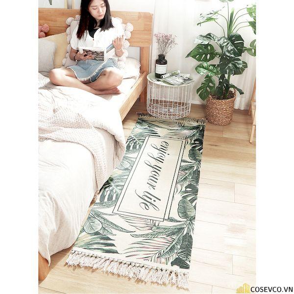Trang trí phòng ngủ với thảm trải sàn - Hình ảnh 4