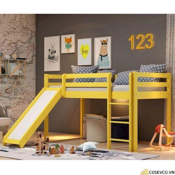 Giường tầng có cầu trượt dành cho bé trai - Hình ảnh 6