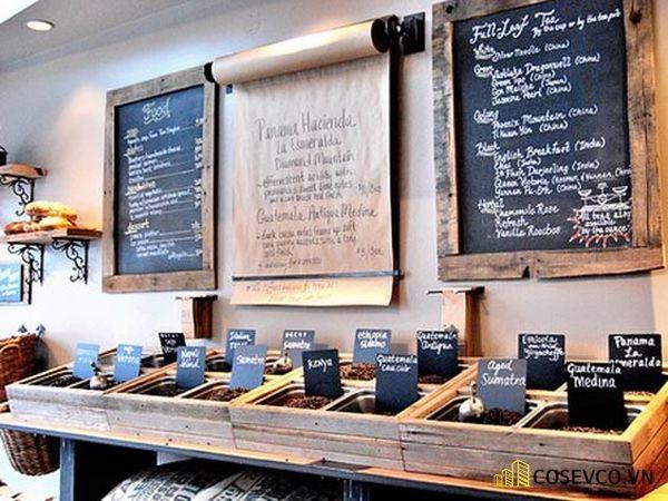 Menu cho quán cafe độc đáo - Hình ảnh 3