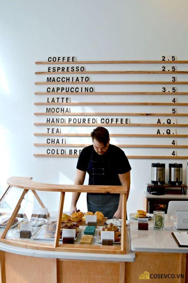 Menu cho quán cafe độc đáo - Hình ảnh 4