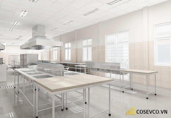 Thiết kế công năng đảm bảo theo tiêu chuẩn nhà bếp 3 sao