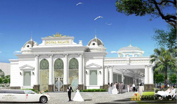 Phương án thiết kế kiến trúc mặt tiền sang trọng nhà hàng Pháp - Hình ảnh 10