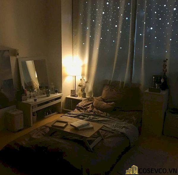Trang trí phòng ngủ nhỏ cho nữ không giường - Hình ảnh 15