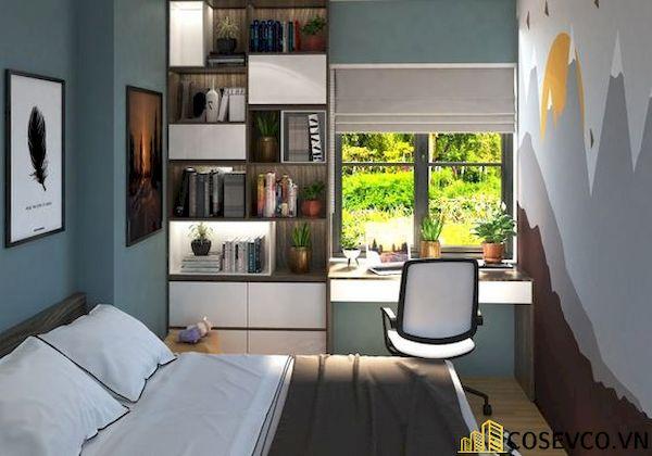 Bày trí phòng ngủ nhỏ cho nam - Hình ảnh 17