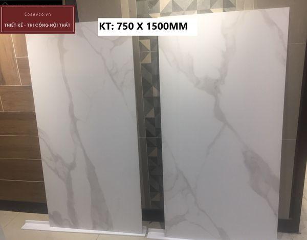 Gạch lát nền kích thước 75x150cm